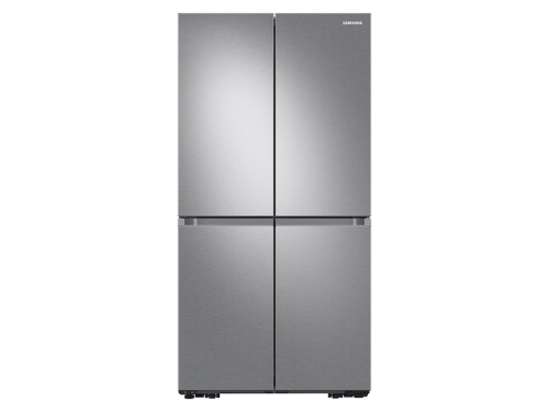Samsung 23 cu. ft. Smart Counter Depth 4-Door Flex™ refrigerator with AutoFill Water Pitcher and Dual Ice Maker in Stainless Steel