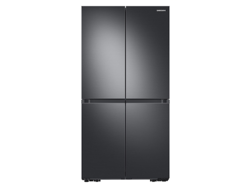 Samsung 23 cu. ft. Smart Counter Depth 4-Door Flex™ refrigerator with Beverage Center and Dual Ice Maker in Black Stainless Steel