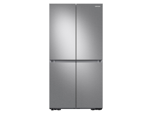 Samsung 23 cu. ft. Smart Counter Depth 4-Door Flex™ refrigerator with Beverage Center and Dual Ice Maker in Stainless Steel