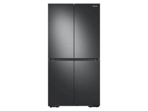 Samsung 29 cu. ft. Smart 4-Door Flex refrigerator with AutoFill Water Pitcher and Dual Ice Maker in Black Stainless Steel