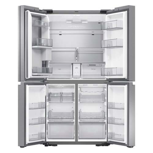 Model: RF29A9771SR   Samsung 29 cu. ft. Smart 4-Door Flex refrigerator with Family Hub and Beverage Center in Stainless Steel