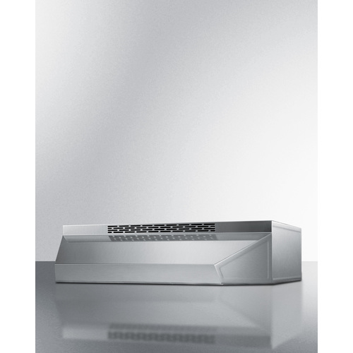 "Model: ADAH1730SS | Summit 30"" Under Cabinet Ductless Range Hood, ADA Compliant"