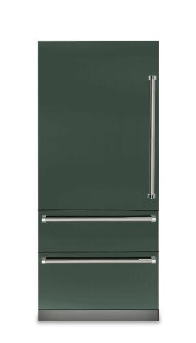 "Viking 36""W. 7 Series Bottom Freezer - Blackforest Green"
