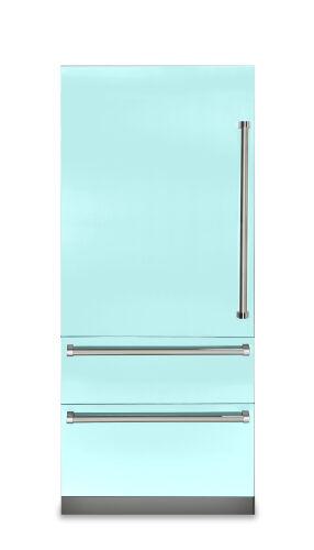 "Viking 36""W. 7 Series Bottom Freezer - Bywater Blue"