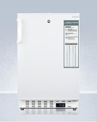 "Summit 20"" Wide Built-In Healthcare All-Refrigerator, ADA Compliant"