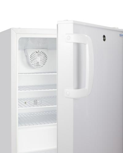 "Model: ADA404REF | Summit 20"" Wide Built-In Healthcare All-Refrigerator, ADA Compliant"
