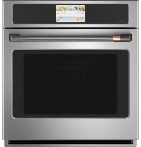 "Model: CXWS7H0PNBT | Cafe Café  Wall Oven/Advantium® oven pro handle kit - 27"" - Brushed Black"