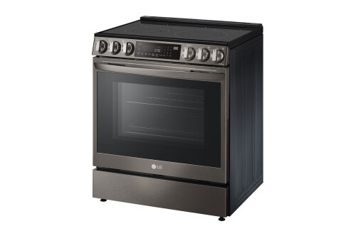 Model: LSEL6335D   LG 6.3 cu ft. Smart wi-fi Enabled ProBake Convection® InstaView® Electric Slide-In Range with Air Fry