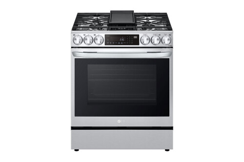 LG 6.3 cu ft. Smart wi-fi Enabled ProBake Convection® InstaView® Gas Slide-In Range with Air Fry