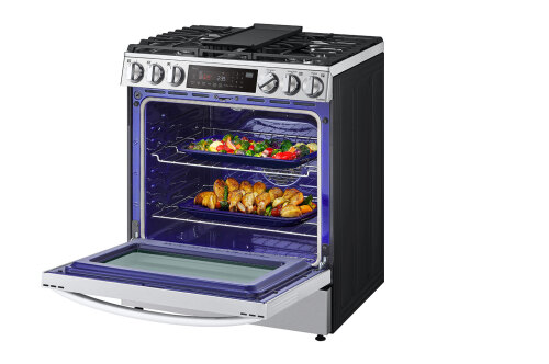 Model: LSGL6335F | LG 6.3 cu ft. Smart wi-fi Enabled ProBake Convection® InstaView® Gas Slide-In Range with Air Fry