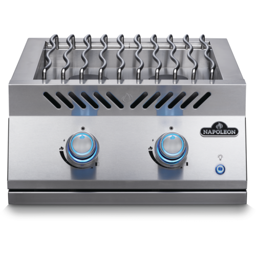 Model: BIB18RTPSS | Napoleon BUILT-IN 700 SERIES DUAL RANGE TOP BURNER with Stainless Steel Cover