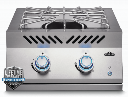 Napoleon BUILT-IN 700 SERIES POWER BURNER with Stainless Steel Cover