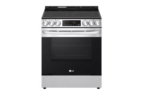 LG 6.3 cu ft. Smart Wi-Fi Enabled Fan Convection Electric Slide-in Range with Air Fry & EasyClean®