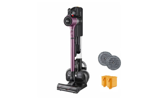Model: A929KVM | LG LG CordZero™ A9 Kompressor Stick Vacuum with Power Mop - Vintage Wine