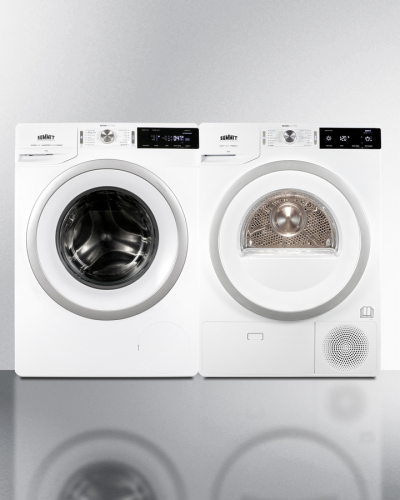Summit Washer/Heat Pump Dryer Combination