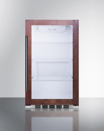 Summit Shallow Depth Indoor/Outdoor Beverage Cooler