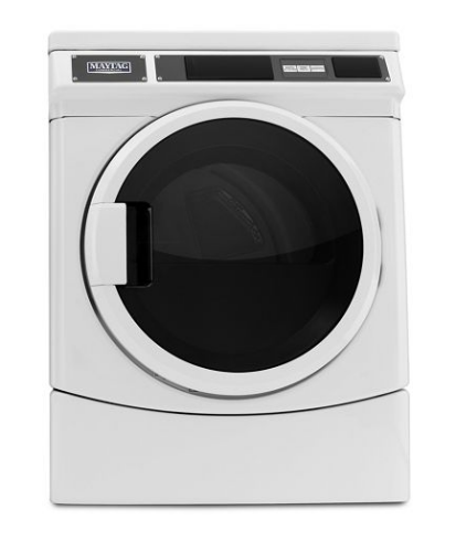 Model: MDE28PRCYW | Maytag Commercial Single Load, Super Capacity Electric Dryer
