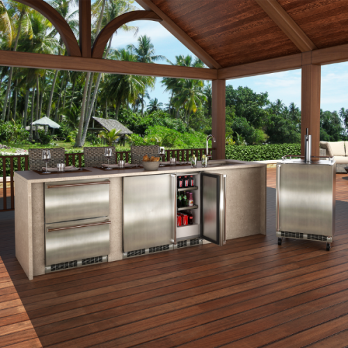 Model: MODR224-SS71A | Marvel  24-IN OUTDOOR BUILT-IN REFRIGERATED DRAWERS