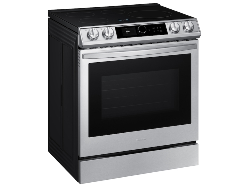 Samsung 6.3 cu. ft. Smart Slide-in Induction Range with Smart Dial & Air Fry in Stainless Steel