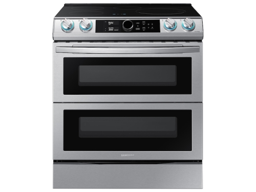 Samsung 6.3 cu. ft. Smart Slide-In Induction Range with Flex Duo™, Smart Dial & Air Fry in Stainless Steel