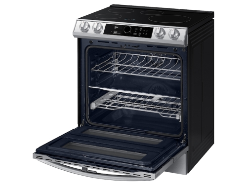Model: NE63T8951SS   Samsung 6.3 cu. ft. Smart Slide-In Induction Range with Flex Duo™, Smart Dial & Air Fry in Stainless Steel