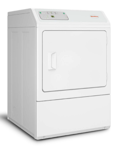 Speed Queen Front Control Single Dryer - Electronic Homestyle (Gas)