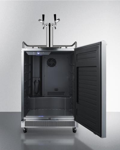 """Model: SBC677BITWINTL   Summit 24"""" Wide Built-In Kegerator with TapLock"""