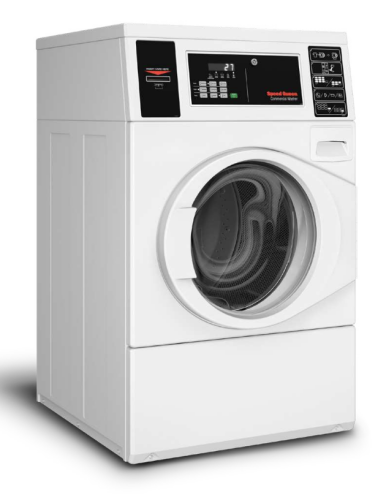 Speed Queen Front Control Front Load Washer Quantum® Gold Pro - (Pump) Coin Drop Installed