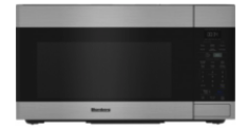 Blomberg 30in Over the range push button microwave-Handless design