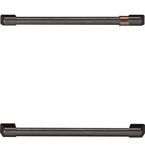 Cafe Café™ Undercounter Refrigeration Handle Kit - Brushed Black
