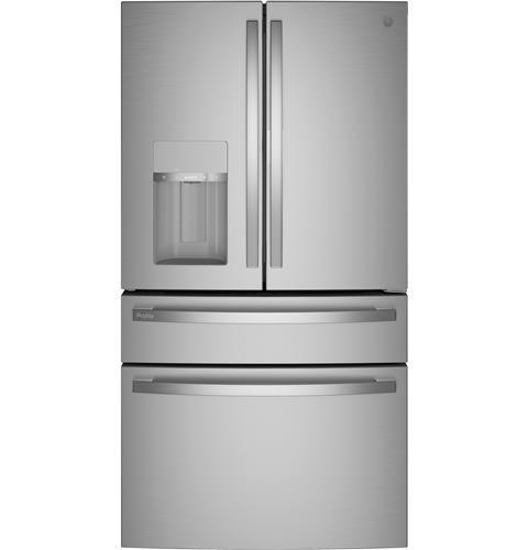 GE Profile GE Profile™ 27.6 Cu. Ft. 4-Door French-Door Refrigerator with Door In Door