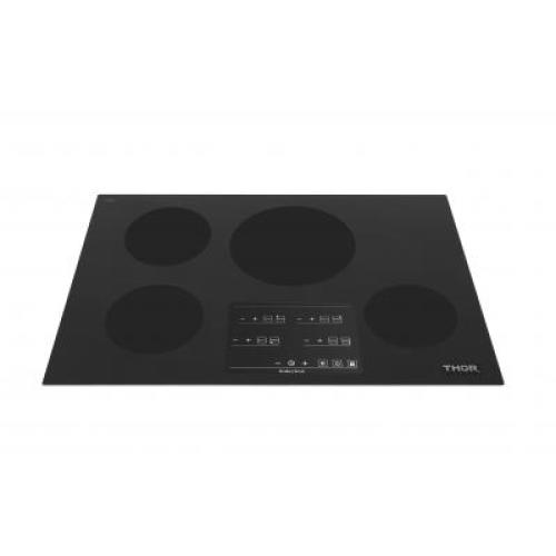 30in Induction Cooktop in Black with 4 Elements