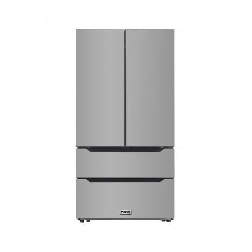 22.5 cu. ft. 4-Door French Door Refrigerator Counter Depth