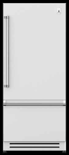 """Hestan 36"""" Bottom Mount, Bottom Compressor Refrigerator-Left Hinge"""