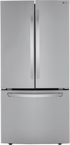 "LG 33"" Smudge Resistant French Door Refrigerator"