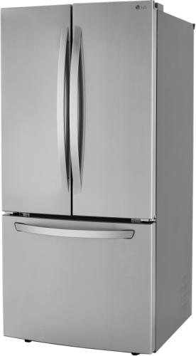 "Model: LRFCS2503S | LG 33"" Smudge Resistant French Door Refrigerator"