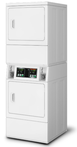 Speed Queen Commercial Stack Electric Dryer - 208 Volt
