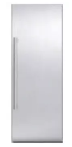 Thermador 36 Inch Chiseled Stainless Steel Door Panel Set