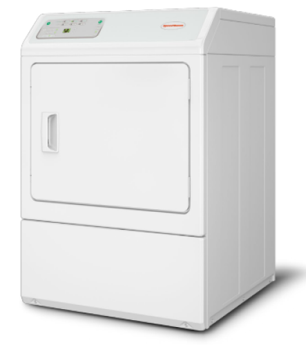 Model: LDEE5BGS153TW01 | Speed Queen Non Coin Operated Electric Commercial Dryer