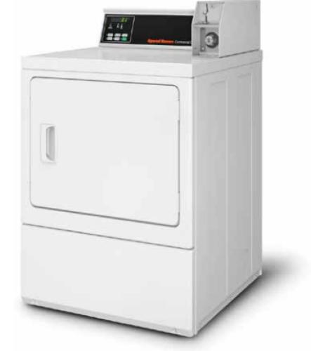 Model: SDENCRGS153TW02 | Speed Queen Commercial Electric Dryer - 208 Volt