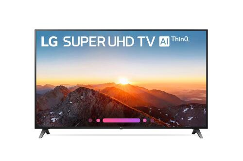 LG Electronics SK8070AUB 4K HDR Smart LED SUPER UHD TV w/ AI ThinQ® - 75''