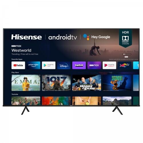 """Hisense 75"""" 4K UHD HISENSE ANDROID SMART TV (2021)"""