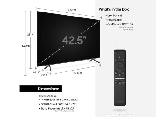 "Model: QN55Q60TAFXZA | Samsung Electronics 55"" Class Q60T QLED 4K UHD HDR Smart TV"