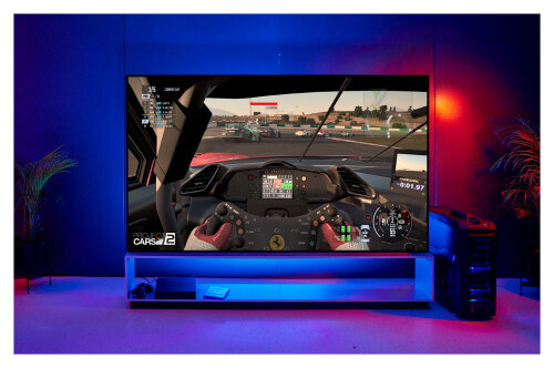 Model: OLED88ZXPUA | LG Electronics G SIGNATURE ZX 88 inch Class 8K Smart OLED TV w/AI ThinQ
