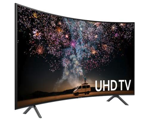 "Model: UN65RU7300FX | Samsung Electronics 65"" Class RU7300 Curved Smart 4K UHD TV"