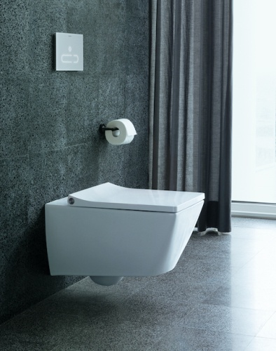 Duravit Viu Toilet wall-mounted Duravit Rimless